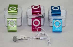 MP3 Player mit Gravur